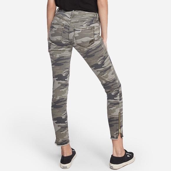 SALE 🍁Express camo skinny jean